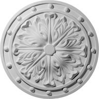 "20 1/2""OD x 2""ID x 1 1/2""P Foster Acanthus Leaf Ceiling Medallion"