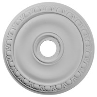 """20""""OD x 3 5/8""""ID x 1""""P Jackson Ceiling Medallion (Fits Canopies up to 5 1/8"""")"""