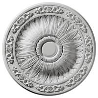"20 1/4""OD x 3 3/4""ID x 1 1/2""P Lunel Ceiling Medallion"