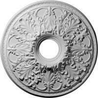 """23 7/8""""OD x 4 7/8""""ID Ashley Ceiling Medallion (Fits Canopies up to 5 1/2"""")"""
