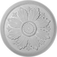 "23 5/8""OD x 1 1/2""P Kaya Ceiling Medallion"