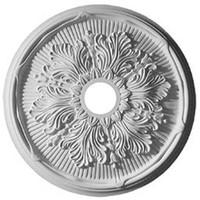 """23 3/4""""OD x 3 5/8""""ID x 1 7/8""""P Luton Leaf Ceiling Medallion"""