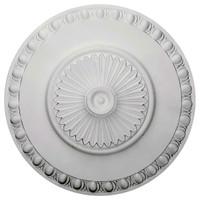 "23 1/2""OD x 3 1/4""P Lyon Ceiling Medallion"