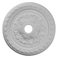 "23 5/8""OD x 3 5/8""ID x 1 5/8""P Palmetto Ceiling Medallion"