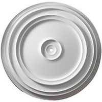 """24 3/8""""OD Traditional Reece Ceiling Medallion"""