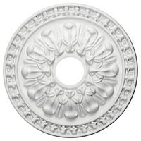 """18""""OD x 3 1/2""""ID x 1 3/8""""P Warsaw Ceiling Medallion"""