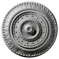 "26 5/8""OD x 2 1/4""P Christopher Ceiling Medallion"