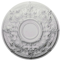 """28 1/8""""OD x 1 3/4""""P Oslo Ceiling Medallion (Fits Canopies up to 7"""")"""