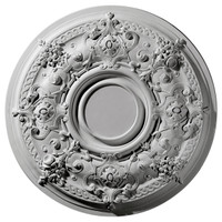 """29 1/4""""OD Darnay Ceiling Medallion (Fits Canopies up to 7 1/4"""")"""