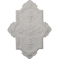 """29 1/8""""H x 38 1/8""""W x 1 3/4""""P Cathedral Ceiling Medallion"""