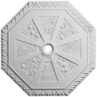 """29 1/8""""OD x 2 1/4""""ID x 1 1/8""""P Spring Octagonal Ceiling Medallion (Fits Canopies up to 3"""")"""