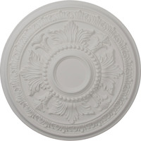"""30 5/8""""OD x 2 1/2""""P Tellson Ceiling Medallion (Fits Canopies up to 6 3/4"""")"""