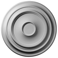 """32 5/8""""OD x 1 1/2""""P Giana Ceiling Medallion (Fits Canopies up to 6 3/4"""")"""