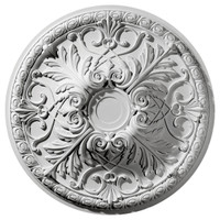 """32 3/8""""OD x 3 1/2""""P Tristan Ceiling Medallion (Fits Canopies up to 6 1/4"""")"""