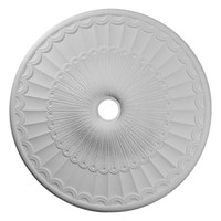 """36 5/8""""OD x 3 5/8""""ID x 2 3/8""""P Galveston Ceiling Medallion (Fits Canopies up to 4 3/4"""")"""