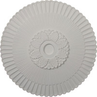 """36 1/4""""OD x 4""""ID x 1 7/8""""P Melonie Ceiling Medallion (Fits Canopies up to 6 1/4"""")"""
