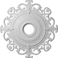 """38 3/8""""OD x 6 5/8""""ID Orleans Ceiling Medallion (Fits Canopies up to 8 1/4"""")"""