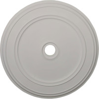 """41 1/8""""OD x 4""""ID x 2 1/8""""P Classic Ceiling Medallion (Fits Canopies up to 5 1/2"""")"""