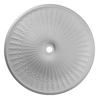 """51""""OD x 3 5/8""""ID x 3 3/8""""P Galveston Ceiling Medallion (Fits Canopies up to 5 7/8"""")"""