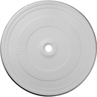 """51 1/8""""OD x 3 5/8""""ID x 1 1/2""""P Nevio Ceiling Medallion (Fits Canopies up to 4 3/4"""")"""