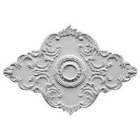 """67 1/8""""W x 48 5/8""""H x 1 7/8""""P Piedmont Ceiling Medallion"""