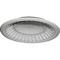 "26 7/8""OD x 25""ID x 3 7/8""D Dublin Recessed Mount Ceiling Dome (24 1/2""Diameter x 3 1/4""D Rough Opening)"