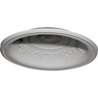 """35""""OD x 27 7/8""""ID x 5 5/8""""D Chesterfield Recessed Mount Ceiling Dome (29 1/2""""Diameter x 6 5/8""""D Rough Opening)"""