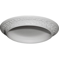 """34 1/2""""OD x 25""""ID x 3 1/2""""D Bedford Surface Mount Ceiling Dome"""