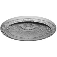 "47 1/4""OD x 39 3/8""ID x 6 3/8""D Stockport Recessed Mount Ceiling Dome (41""Diameter x 5 1/4""D Rough Opening)"