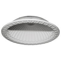 "60 3/4""OD x 50 1/8""ID x 12 5/8""D Claremont Recessed Mount Ceiling Dome (53""Diameter x 14""D Rough Opening)"