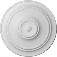 """40 1/4""""OD x 3 1/8""""P Small Classic Ceiling Medallion"""