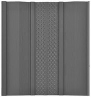 Charcoal Vented Panel