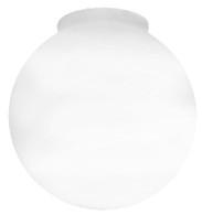 """6"""" Globe Smooth White"""