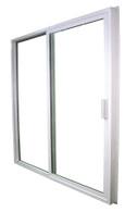 "1600 Series Kinro Vinyl Rolling Glass Door With Screen Size 72""X76"""