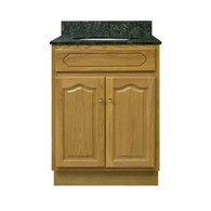 "Appalachian Oak Vanity - 24""W X 18"" D X 34.5"" H  - 2 Door"