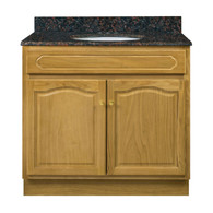 "Appalachian Oak Vanity - 36""W X 18"" D X 34.5"" H  - 2 Door"