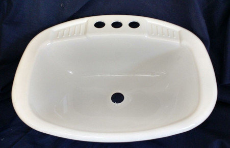 Mobile Home And Rv Lavatory Sink Size 16x20 Square Mobile