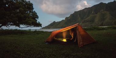 Camping and Hiking Image