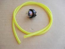 Primer Bulb and Fuel Line for Craftsman, Ryobi String Trimmer, Tiller, Leaf Blower 181168, 181558, 683974, 791-683974B, Made In USA