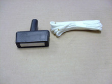 Starter Rope with Pull Handle for Craftsman Lawn Mower, 33948, 57008