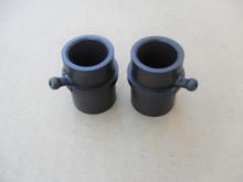 Wheel Plastic Bushing Bearing with Grease Fitting for Cub Cadet GT1554, GTX1054, LGT1054, LT1042, LT1045, LT1046, LT1050, LTX1040, LTX1045, 741-0990, 741-0990A, 741-0990B, Set of 2 bushings bearings