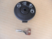 Ignition Starter Switch for Scotts 94762, 94762MA, 94762MAX Includes Key