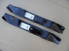 """Mulching Blades for MTD , Yard Man, Yard Machine 42"""" Cut, 742-04126, 742-0616, 742-0616A, 742-616A, 942-04126, 942-0616, 942-0616A, 942-616 Yardman, Yardmachine, Made In USA, Mulcher"""