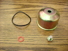 Walbro Carburetor Bowl and Gasket Kit with Bolt for Briggs and Stratton 495933