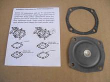 Carburetor Diaphragm Rebuild Kit for Tecumseh AV520, H30, LAV40, 1400, 1500 Jiffy Ice Auger and Edgers 630978, 631069, Made In USA