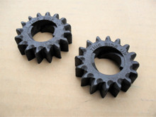 Starter Gears for Briggs and Stratton 280104, 280104S, 693058, 693059, 695708, Set of 2 Gear &