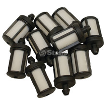 Gas Fuel Filters for Stihl 020T, 024, 026, 034, 036, 038, 044, 046, 064, 066, 084, 088, MS200 T, MS231, MS240, MS241, MS251, MS260, MS270, MS280, MS311, MS340, MS341, MS360, MS361, MS380, MS381, MS391, MS440, MS441, MS460, MS461 Cutquik 00003503504 shop pack