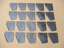 Blade Set for Turfco LS20 and LS22 Dethatcher Overseeder Blades 661319