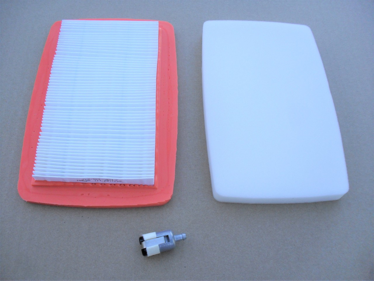 Air Filter, Pre Cleaner, Fuel Filter for Red Max EB7000 and EB8000 Backpack  Blower