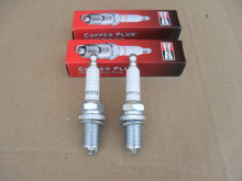 2 Spark Plugs for Gravely 21531100, 21534100, 21544000, 21551700